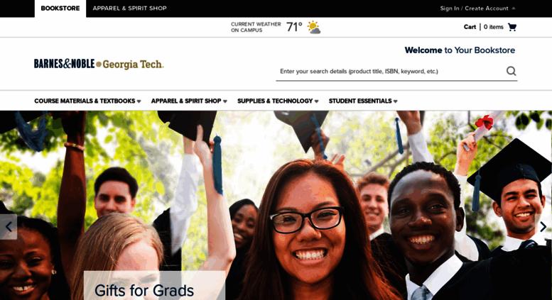Access Gatech Bncollege Com Barnes Noble At Georgia Tech