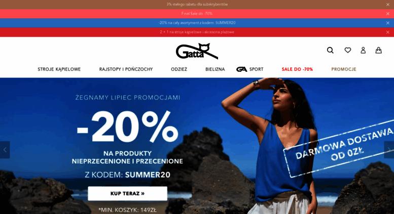 90eeb2184d3a47 Access gatta.pl. Rajstopy, pończochy, odzież i bielizna damska i ...