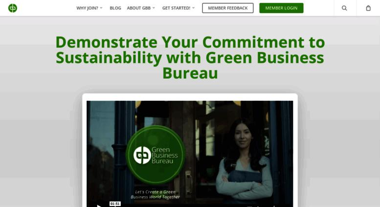 Access gbb org  Green Business Bureau – Environmental