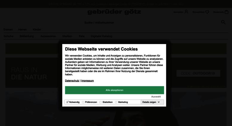 c241908cb8fe66 Access gebrueder-goetz.at. Schuhe online kaufen bei gebrüder-götz.at