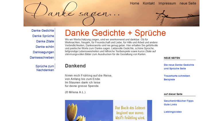 Access Gedichte Danke Spruechenet Danke Gedichte Danke