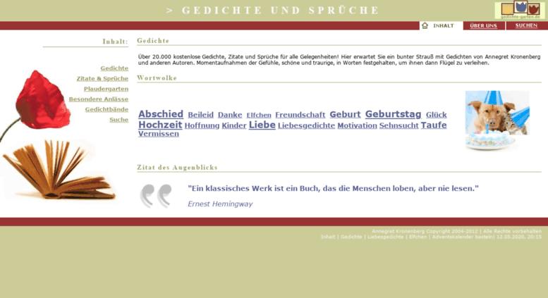 Access Gedichte Gartende Gedichte Zitate Und Sprüchefür