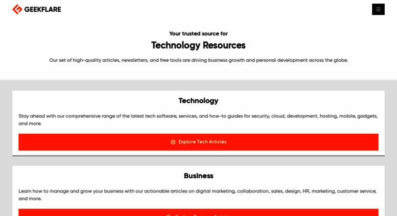 Access geekflare com  Geekflare - Learn Web Security, Cloud
