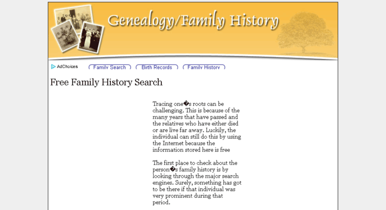 Access geneaology kgcenterprise com  Geneaology | Free Family