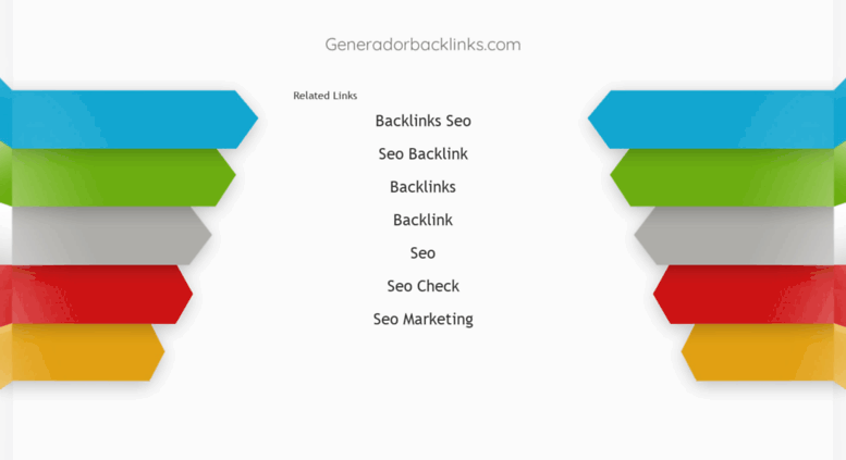 Access generadorbacklinks com  Generador de Backlinks Gratis