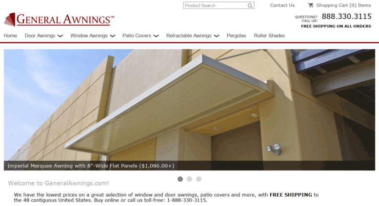 Access generalawnings com  General Awnings