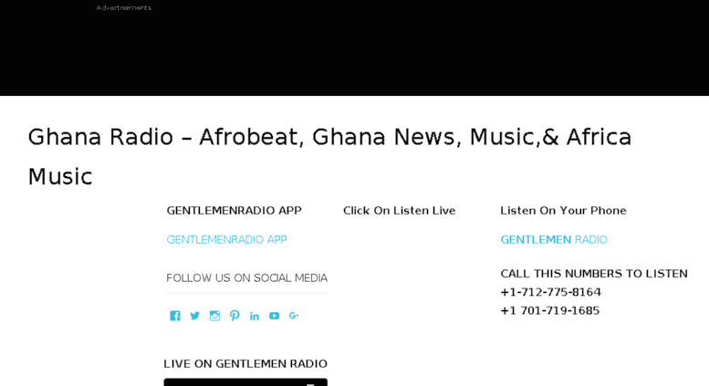 Access gentlemenradio com  Gentlemenradio com – Afrobeat Radio