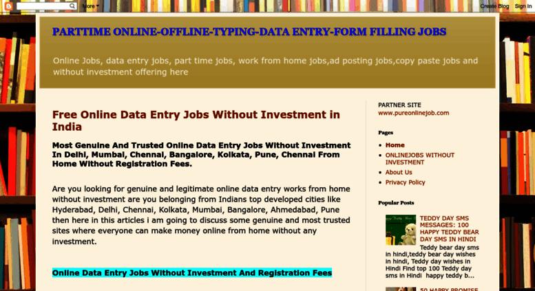 Access genuineworks1 blogspot com  PARTTIME ONLINE-OFFLINE