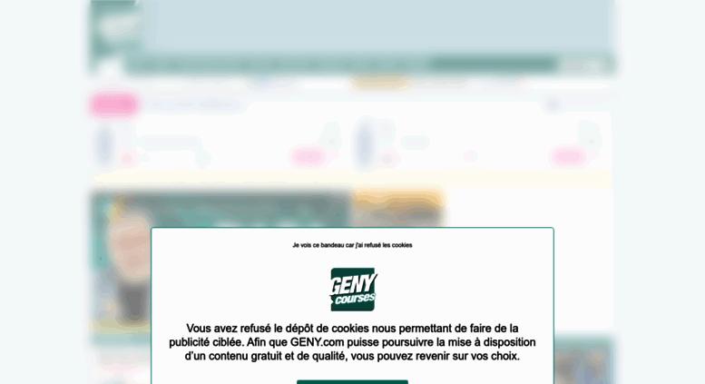 Access geny com  GENYcourses - rapports, résultats et pronostics des
