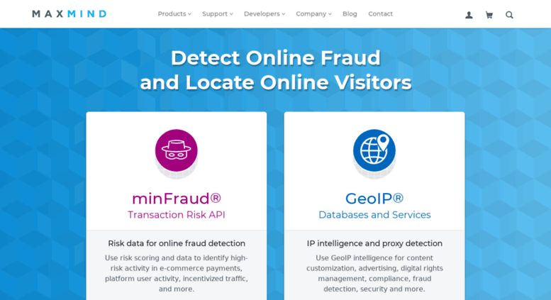 Access geoip maxmind com  IP Geolocation and Online Fraud Prevention