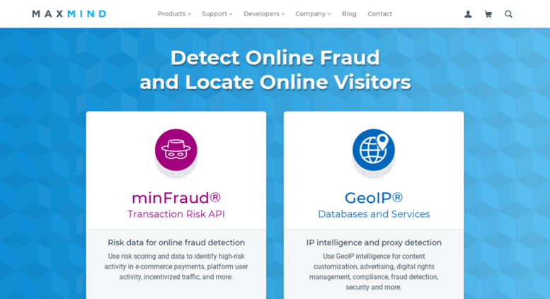 Access geoip3 maxmind com  IP Geolocation and Online Fraud