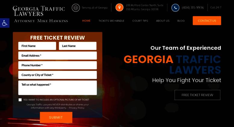 Access georgiatrafficticket net  Georgia Traffic Ticket Lawyer | GA