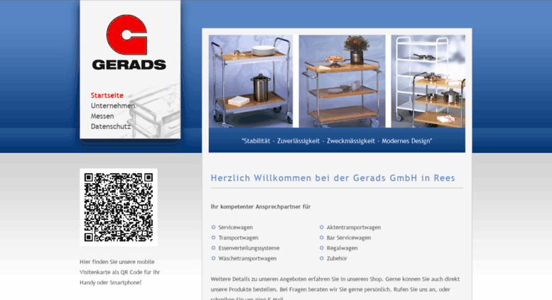 Access Gerads Gmbh De Gerads Gmbh In Rees Startseite
