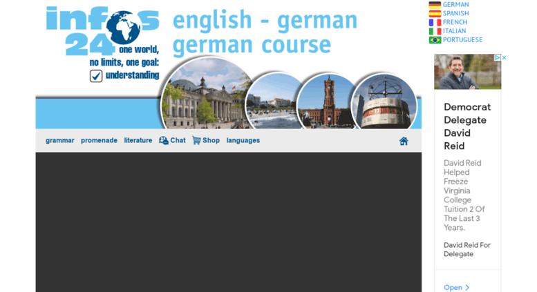 lernen deutsch online