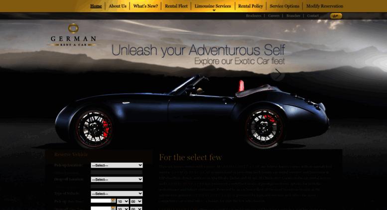 Access germanrac com  Luxury Car Rental Abu Dhabi, Dubai, Al