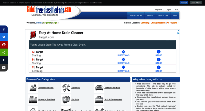 Access germany global-free-classified-ads com  Free classifieds in