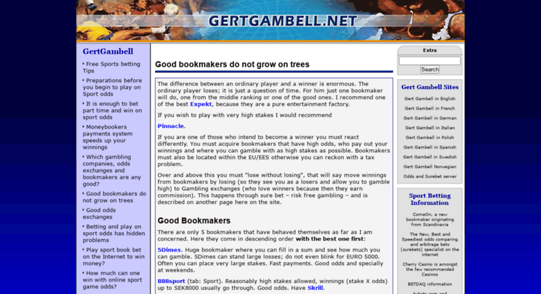 Access gertgambell net  Free Sports Betting Tips – Play on