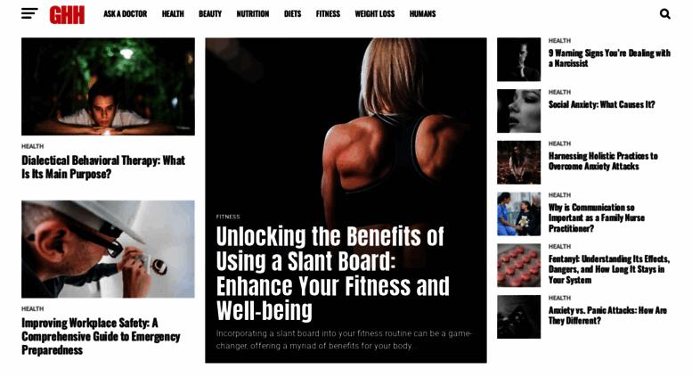 Access getholistichealth com  Get Holistic Health - Read the
