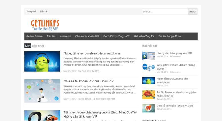 Access getlinkfs com  Getlinkfs - Tải file tốc độ VIP!