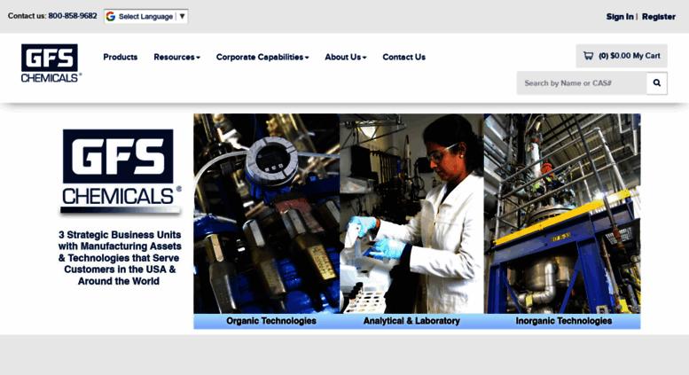 Access gfschemicals com  Fine Chemicals Manufacturer,Bulk