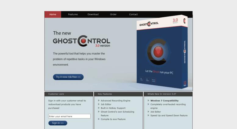 Access ghost-control com  Ghost Control - Macro Recorder