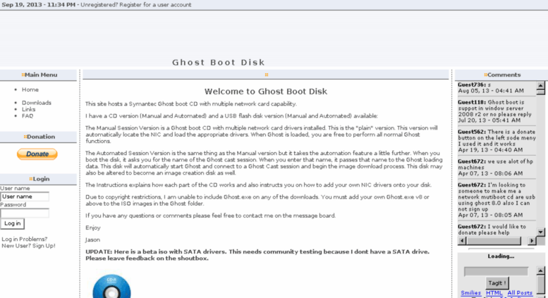 ghost boot disk iso download