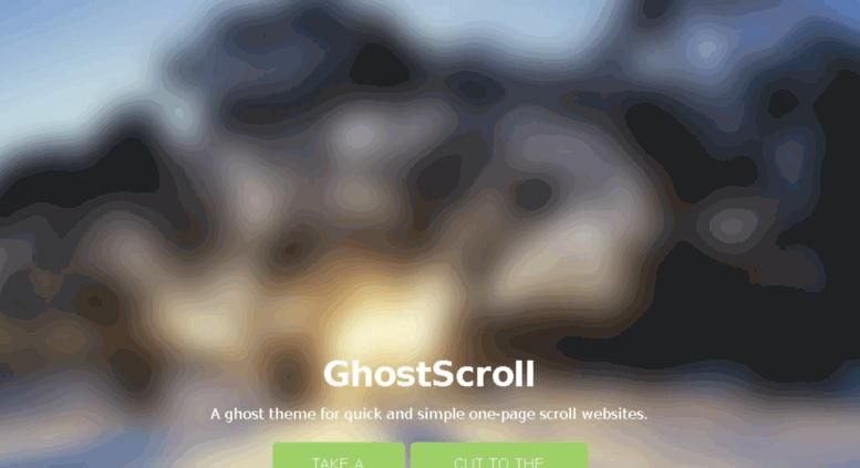 Access ghostscroll grmmph com  GhostScroll
