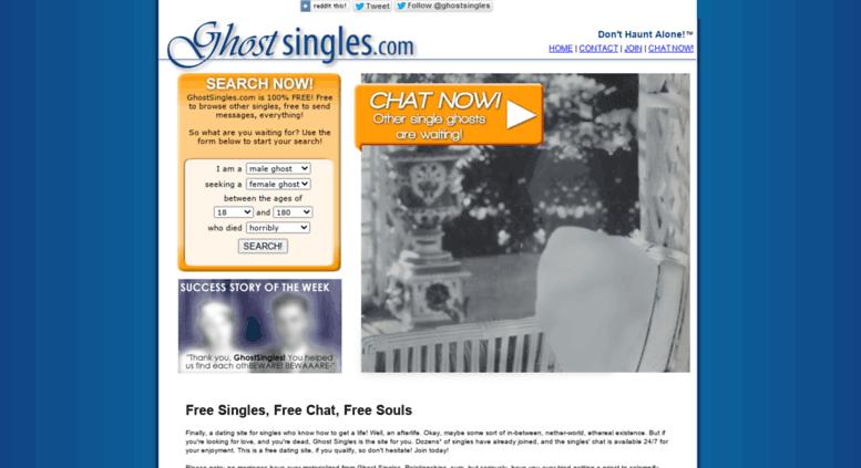 ghosts dating website