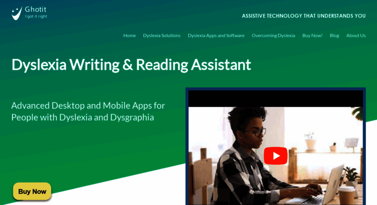 Access ghotit com  Dyslexia Help for Children and Adults