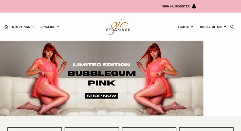 59200cba1 Access giostockings.co.uk. Gio Stockings