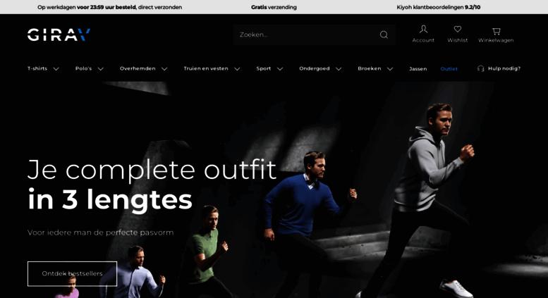 T Shirts Mannen Girav Girav Voor nlExtra Lange Access xedBQWrCo