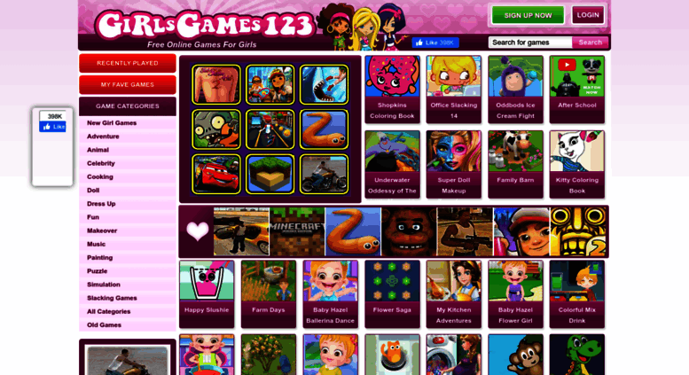 Access girlsgames123 com  Girl Games, Games for Girls, Play