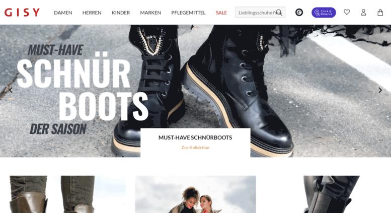 2b6cf3d272b33c Access gisy-schuhe.de. Schuhe online kaufen
