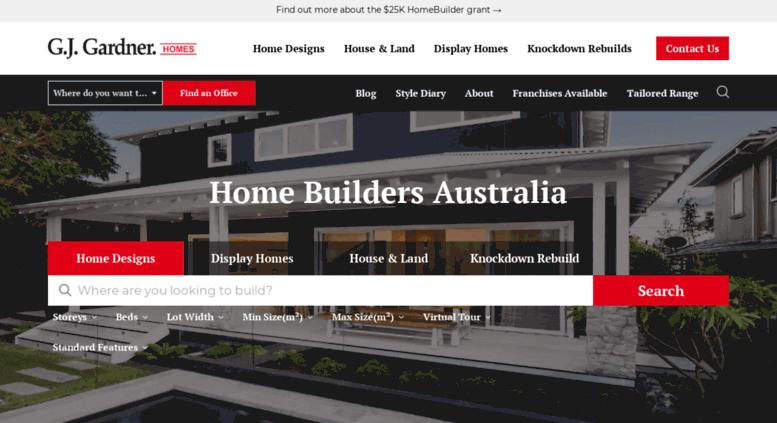 Access Gjgardnerhomes Com Au G J Gardner Homes Custom