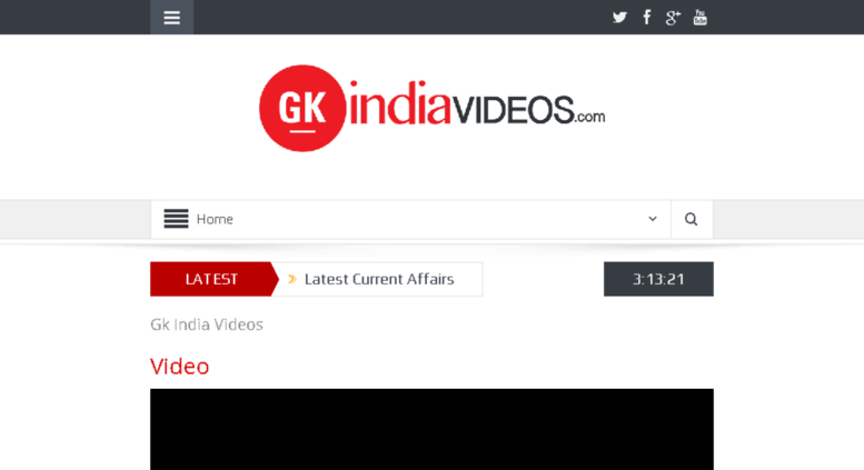 Access gkindiavideos com  General Knowledge quiz | IAS