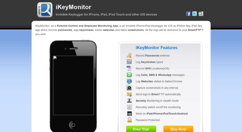 Access global ikeymonitor com  iKeyMonitor iPhone Monitoring App and