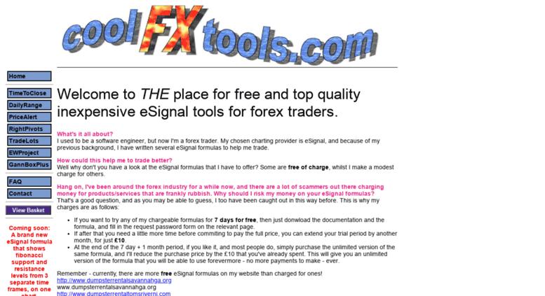 Access globalwebassociates com  eSignal formulas for forex traders