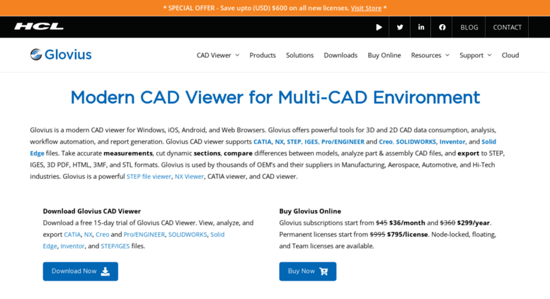 Access glovius com  3D CAD Viewer for CATIA, STEP, IGES, Creo