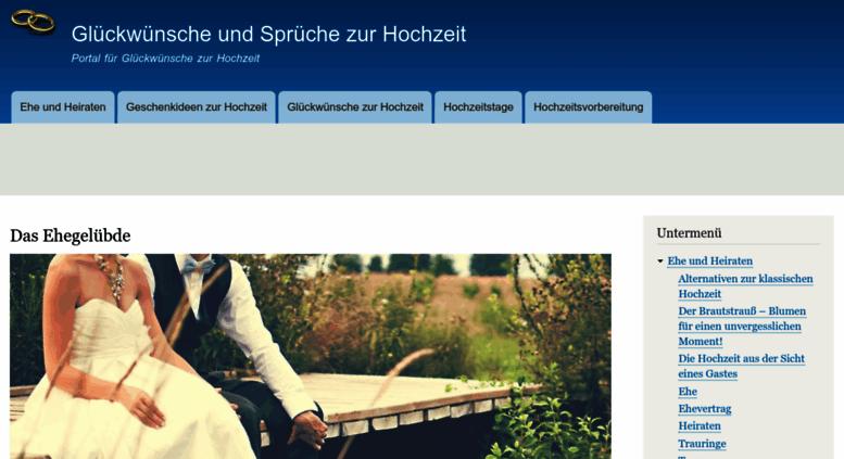 Access Glueckwunsch Hochzeit Spruechede Glückwünsche Und Sprüche