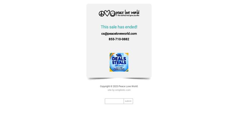 Gma Peaceloveworld Com Screenshot