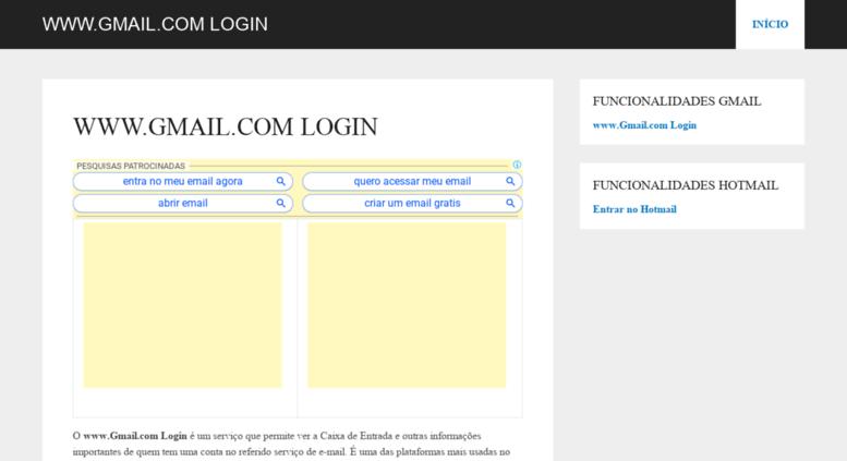 Gmailcom loggin
