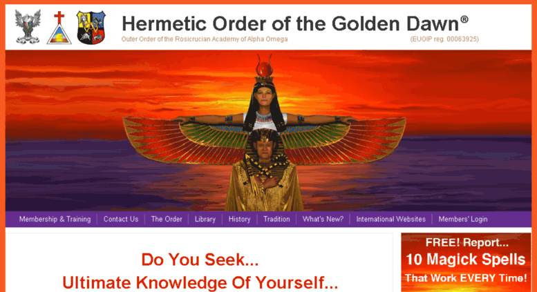 hermetic order of the golden dawn