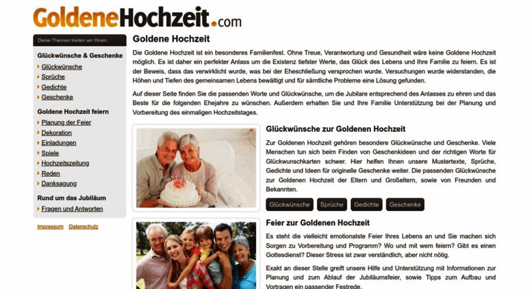 Access Goldenehochzeitcom Goldene Hochzeit Sprüche