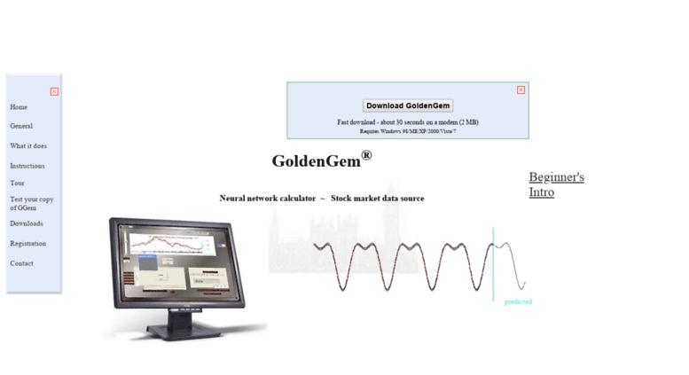 Access goldengem co uk  Neural Network Stock Prediction