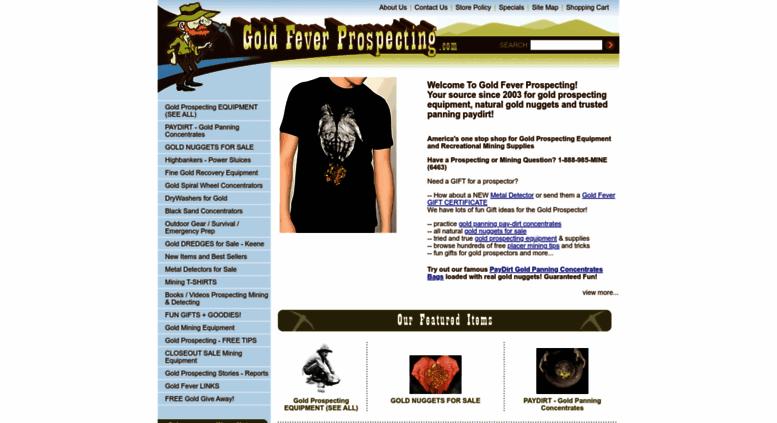Access goldfeverprospecting com  Gold Fever Prospecting