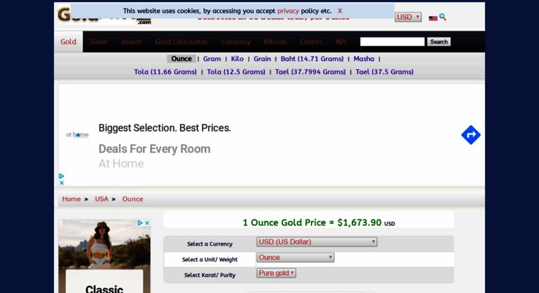 Goldpricez Screenshot