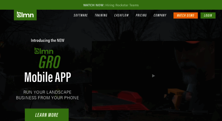 Access golmn com  LMN Landscape Management Software – Help Your
