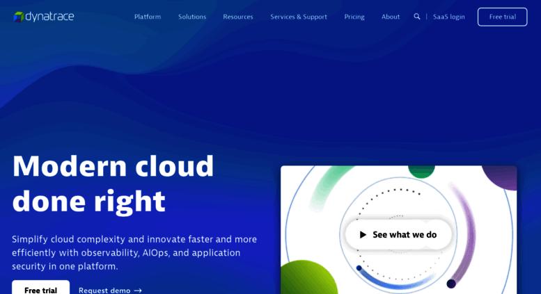 Access gomeznetworks com  Dynatrace Classic Portal
