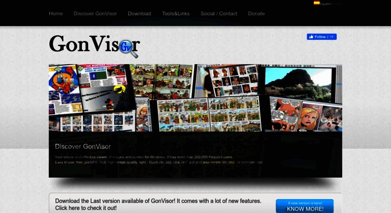 Access gonvisor com  GonVisor: The best comic reader
