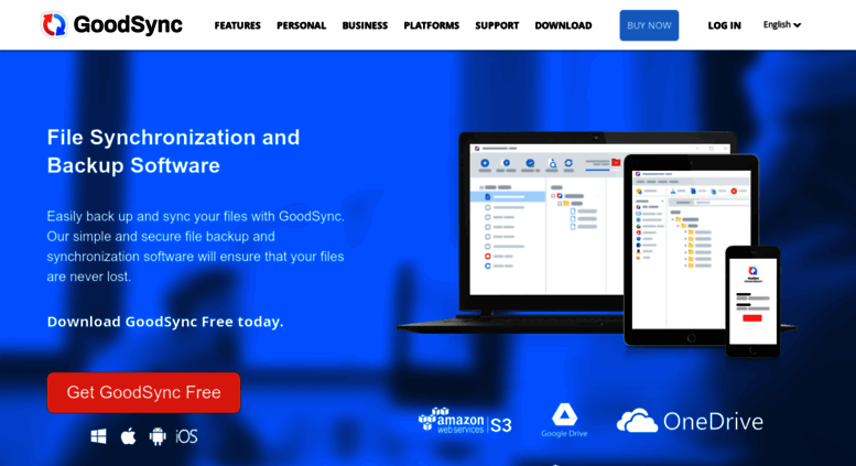 Access goodsync com  File Sync & Backup Software | GoodSync